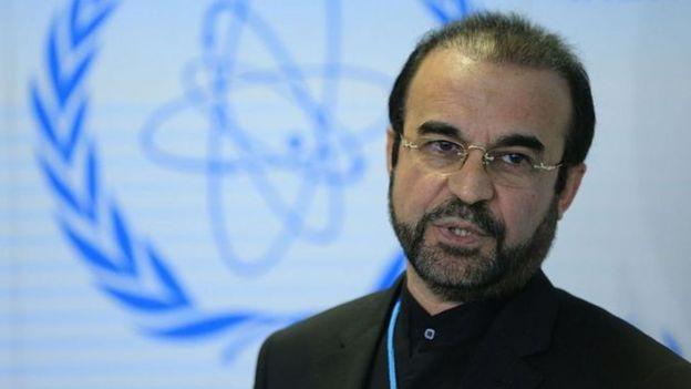رضا نجفی سفیر ایران در آژانس در حضور اعضای شورای حکام از رویکرد آمریکا انتقاد کرده است