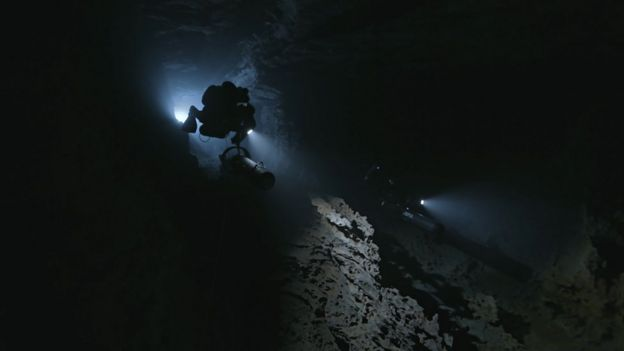 The cave divers who went back for their friends - BBC News