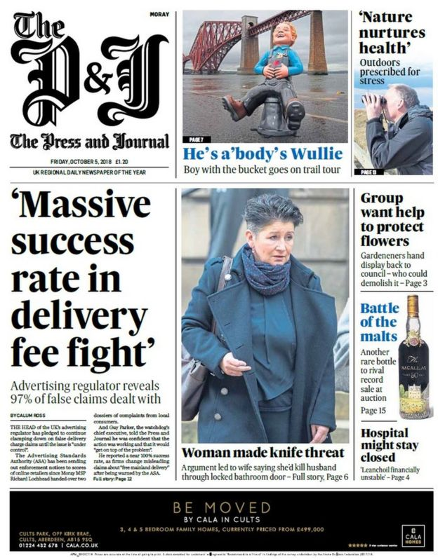 The Papers Civil War In Scottish Labour Bbc News