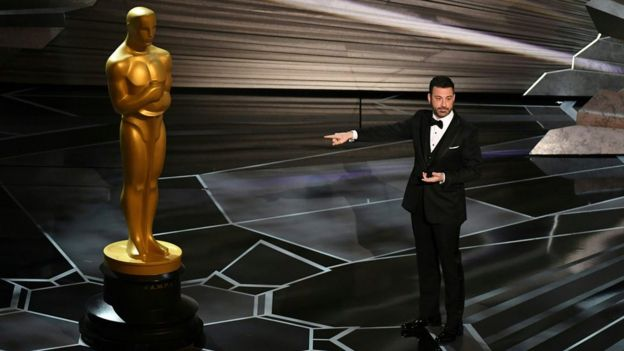 Oscars host Jimmy Kimmel