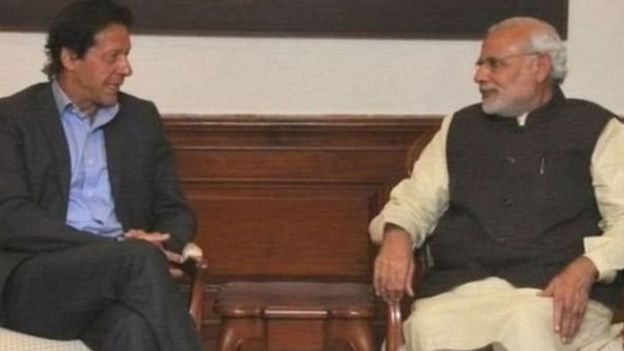 Imran Khan and Narendra Modi