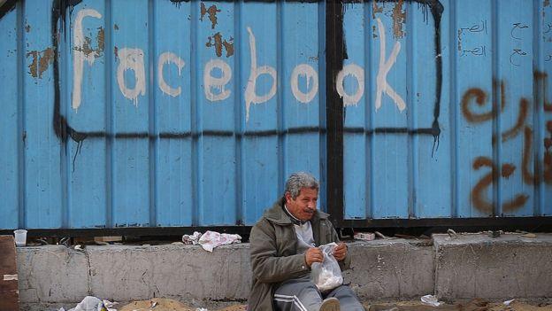 Arap Baharı Facebook graffiti