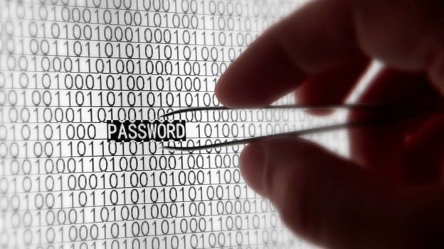 Mr Horson advise people to use passwords wey contain letters, alphabet and special character.