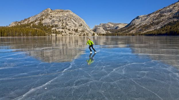 Image result for how lakes freeze