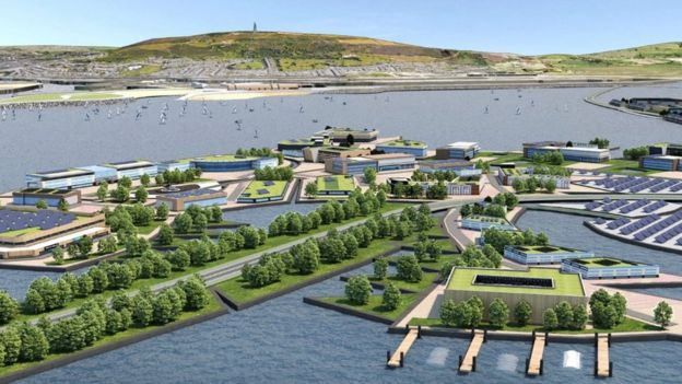 The new plans move the scheme from an energy project to an infrastructure one