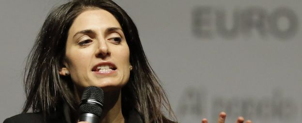 Rome Mayor Virginia Raggi