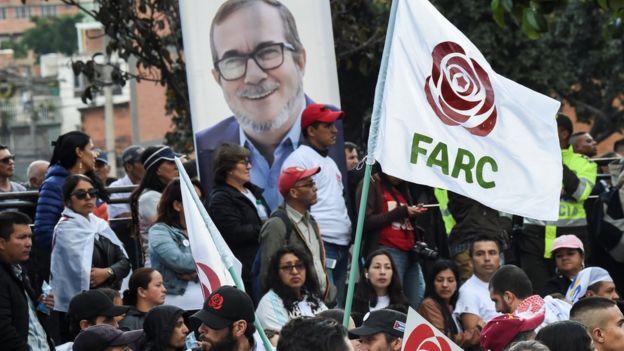 Simpatizantes de las FARC