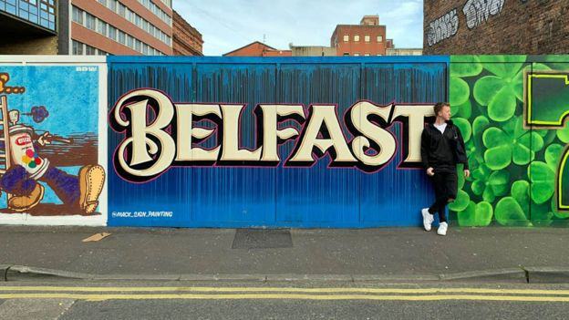 James Barr in Belfast