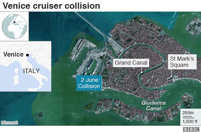 Venice crash captain ordered 'all procedures to avoid impact