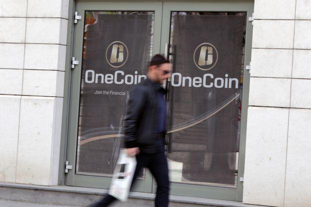 保加利亚首都索非亚的OneCoin 总部