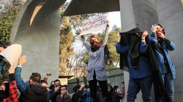 معترضان ایران