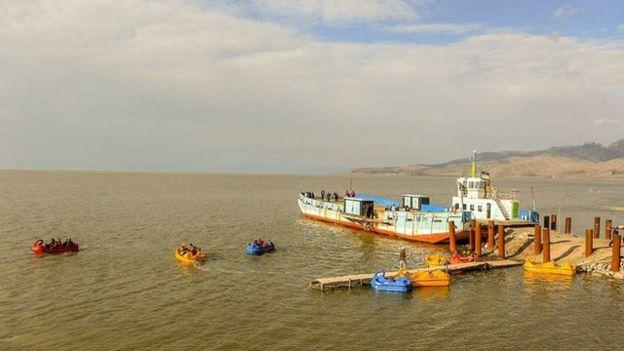 دریاچه ارومیه فروردین ۹۸