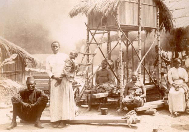 "Congolese people were forced to be human exhibits in a ""zoo"" in Belgium in 1897"