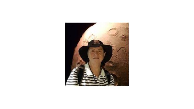 professora e astrônoma Maria Elizabeth Zucolotto