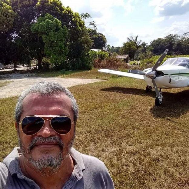 piloto do avião que sumiu