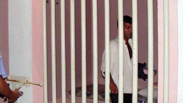 Maldivian activist Mohamed Nasheed in jail in 1990s