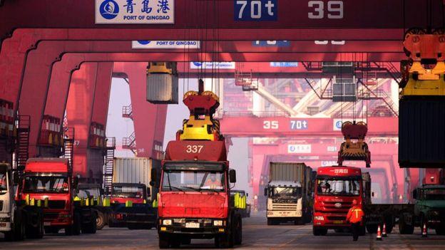 Puerto en China