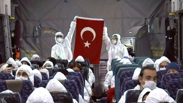 Çin'in Vuhan kentindeki Türk vatandaşları Şubat ayı başında gönderilen bir kargo uçağıyla tahliye edildi.