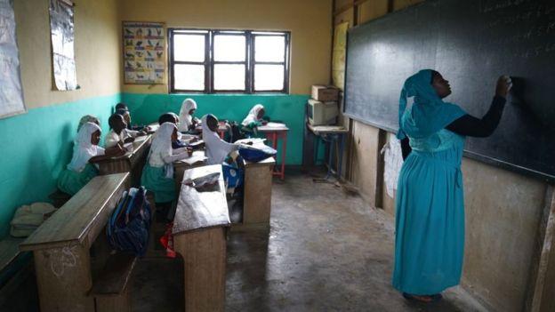 Escuela en Camerún.