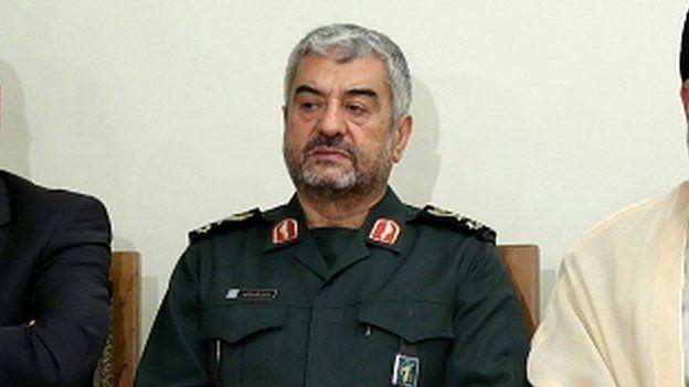 Maj Gen Mohammad Ali Jafari in 2017