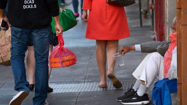 Mendigo en San Francisco