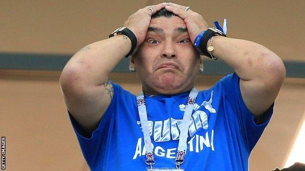 Messi n'ikipe ya Argentina baba bari ku gitutu kirenze? - BBC News