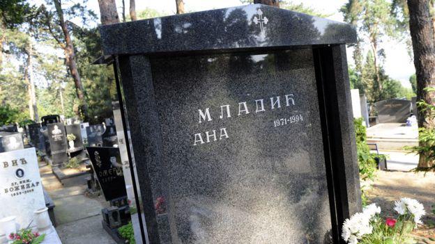 Tumba de Ana Mladic