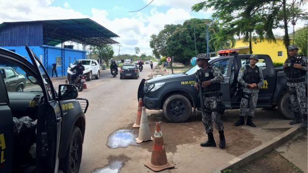 Fronteira do Brasil com a Venezuela