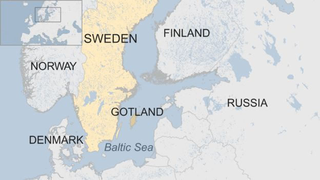 Sweden brings back military conscription amid Baltic tensions - BBC News