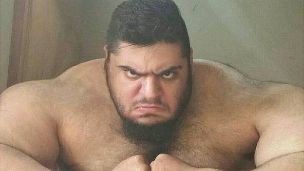 سجاد غریبی ورزشکاری که به هالک ایرانی معروف است