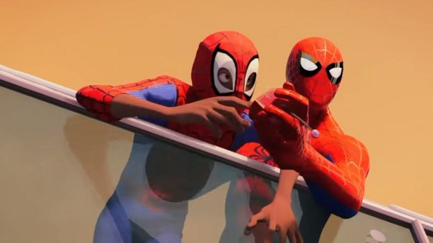 Spider Man Into The Spider Verse Trailer What We Learned Bbc News