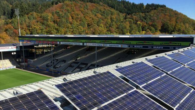 Estadio del club de fútbol Friburgo