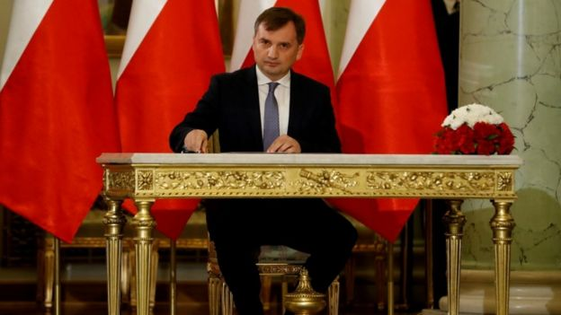 Polonya Adalet Bakanı Zbigniew Ziobro