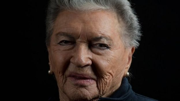 Chilean pilot Margot Duhalde, 96, Duhalde who died on February 05, 2018 in Santiago.