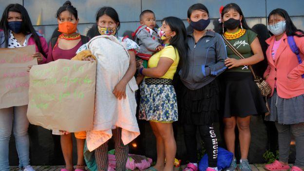 Protestas indigenas colombia