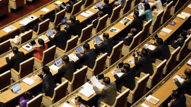 Quốc hội Việt Nam được trang bị đầy đủ thiết bị để làm việc