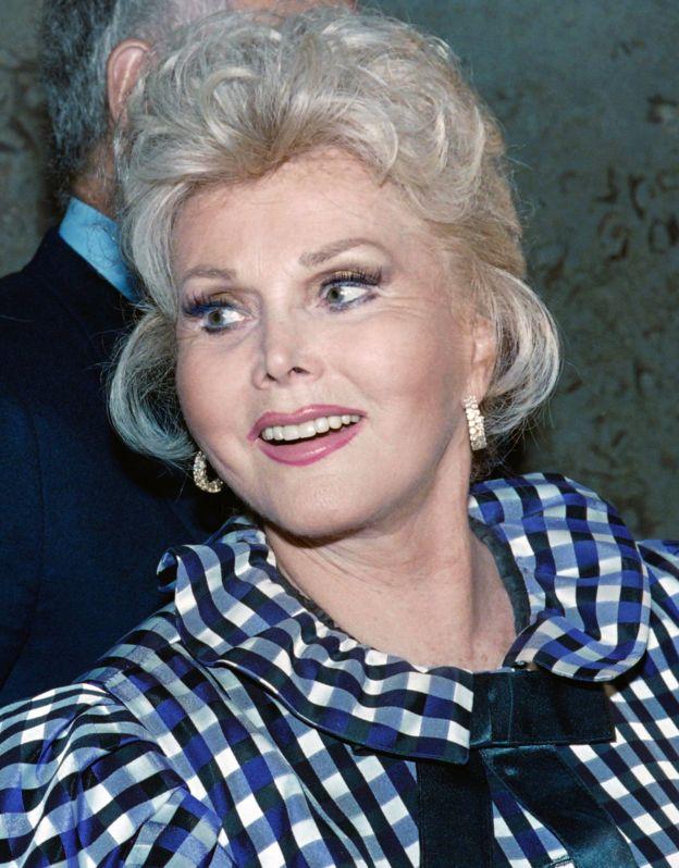 Gabor akiwa Beverly Hills mwaka 1989