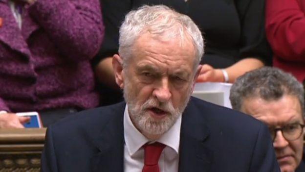 Jeremy Corbyn, líder del Partido Laborista en Reino Unido