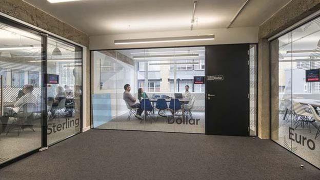 Oficinas centrales de GoCardless en Londres.