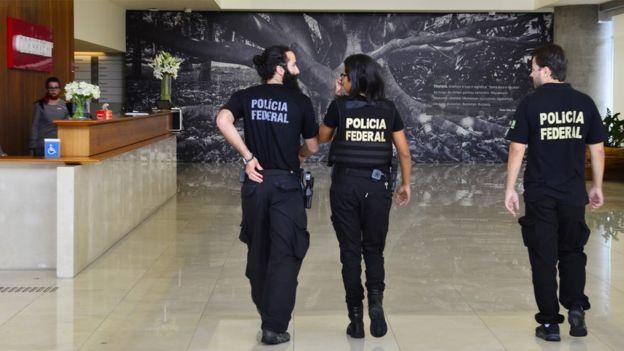 Ação da PF em sede da Odebrecht