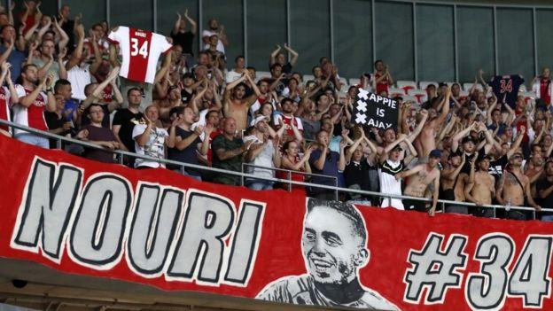 Aficionados del Ajax.