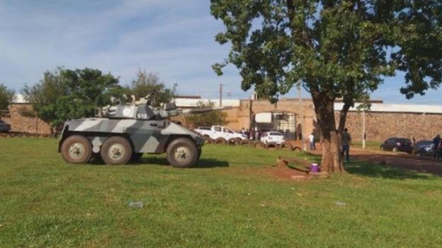 Patrulhamento foi reforçado em presídios com membros do PCC no Paraguai