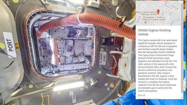 Google Maps Adds The International Space Station BBC News - Google maps street view us windows 10