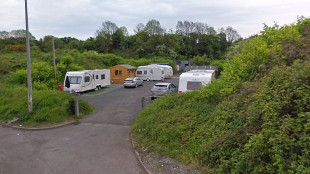 Castle Quarry traveller site