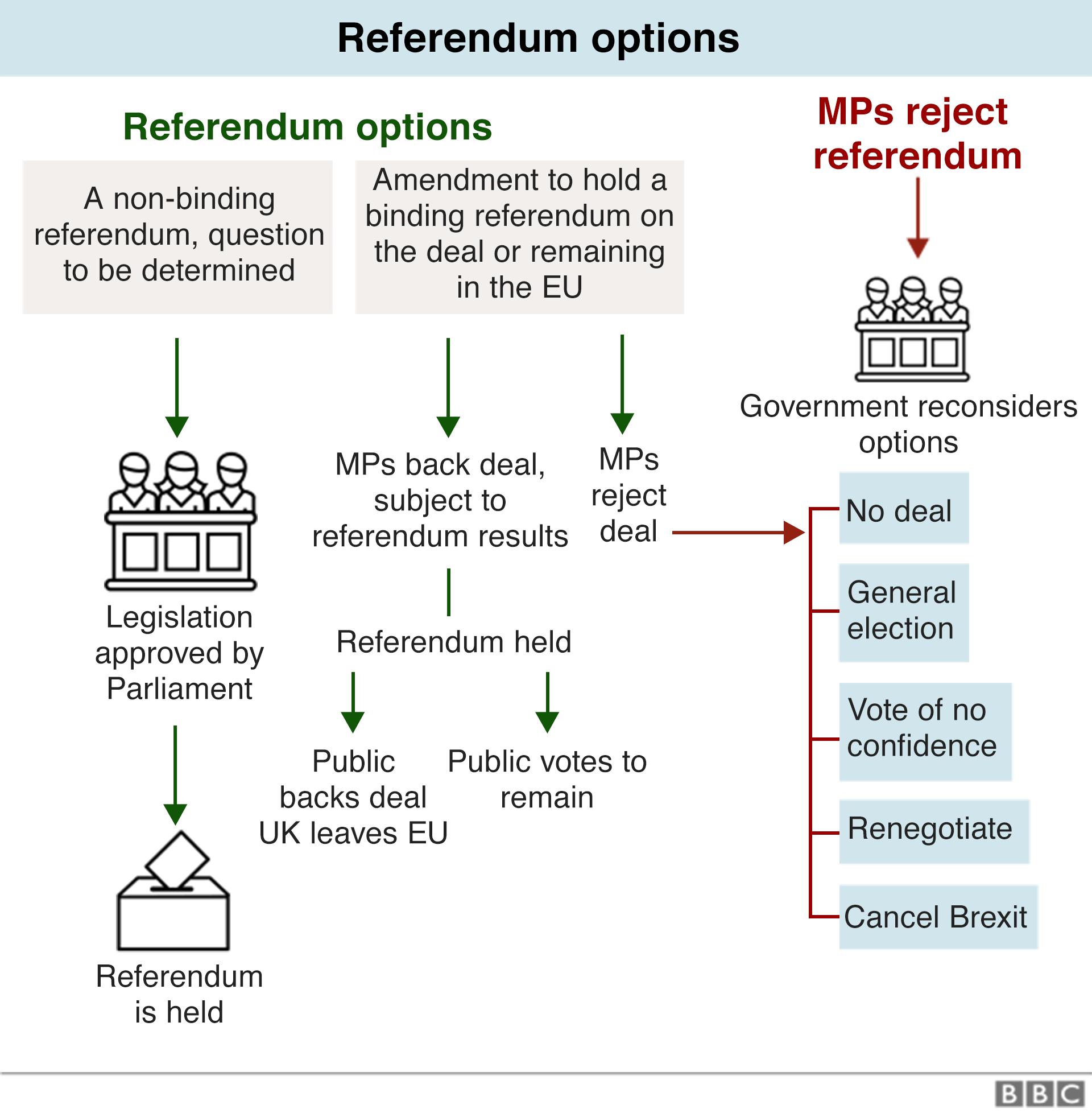 Chart on referendum options