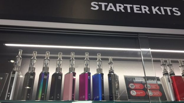 Up in smoke: Is the vape shop boom about to end? - BBC News