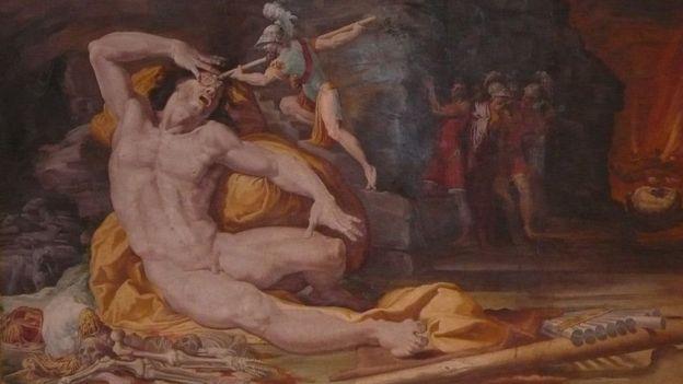 Odysseus Tepegöz'ü kör ediyor