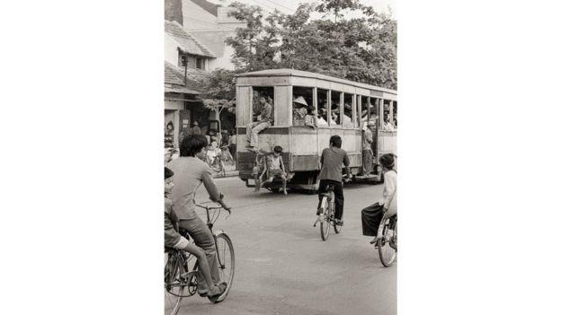 Hà Nội từng có tàu điện