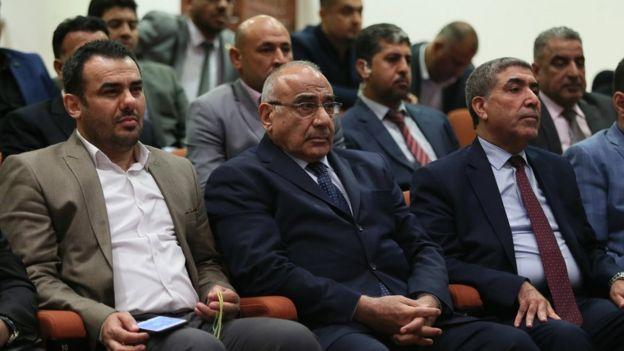New Iraq President Barham Saleh names Adel Abdul Mahdi as PM _103687257_81c75311-0caa-40d7-bcce-fa80beaaa0b3