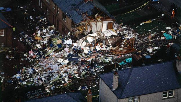 Rosebank Crescent destruido.
